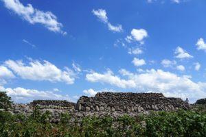 相島の積石塚