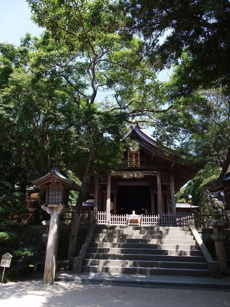 志賀海神社の拝殿