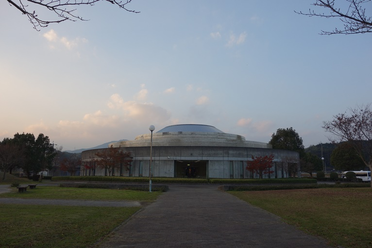 王塚装飾古墳館の外観