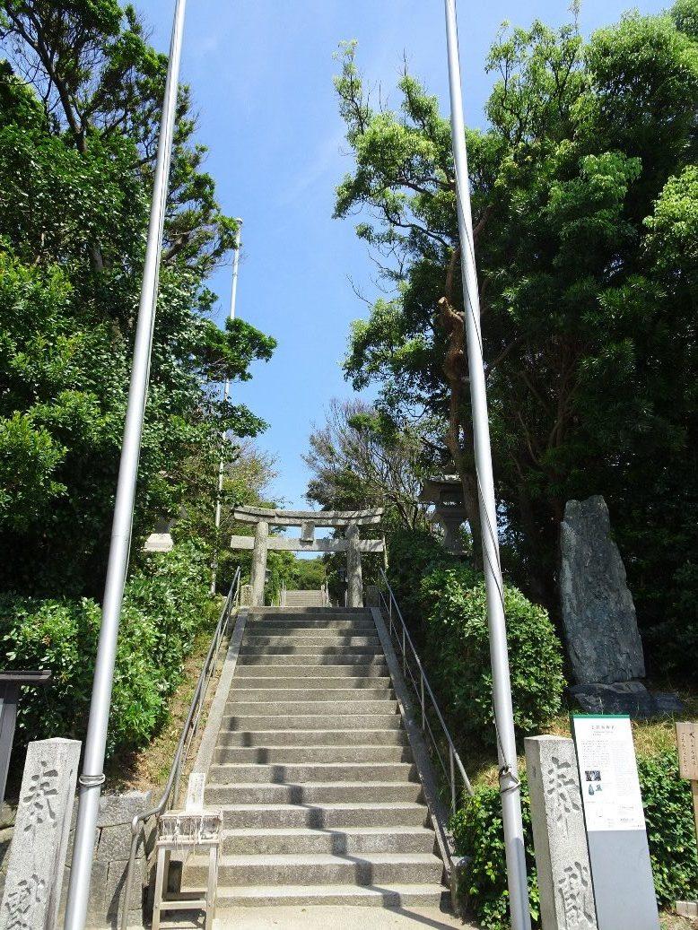 志賀海神社の入口