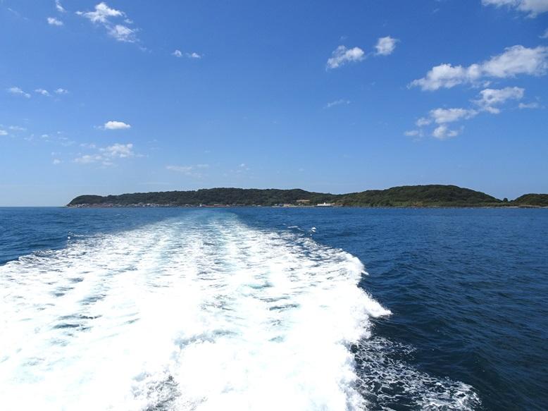 相島港から新宮港へ