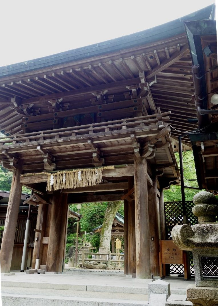 志賀海神社の楼門