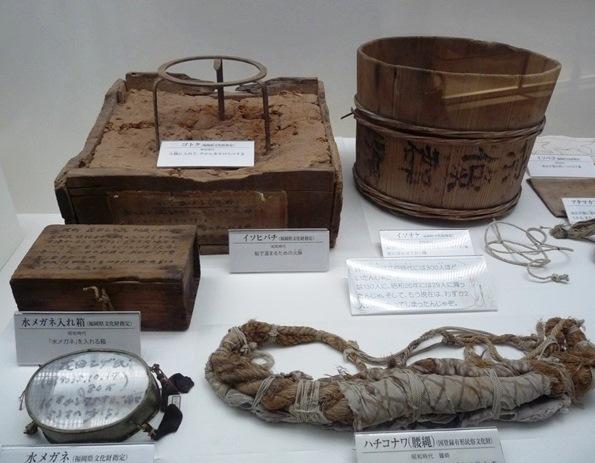 鐘崎海女の道具