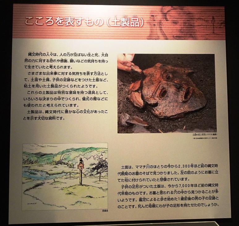 ママチ遺跡土面の解説