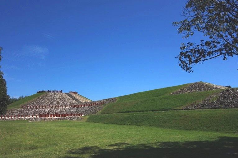 亀塚古墳の全貌