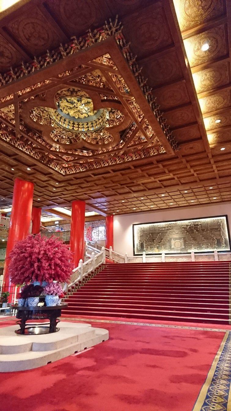 円山大飯店ロビー階段(台湾・台北)