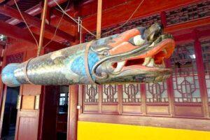 天竜寺の色鮮やかな魚板