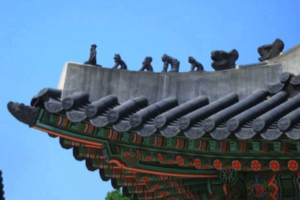 ソウル宮殿屋根の雑像(ジャプサン)