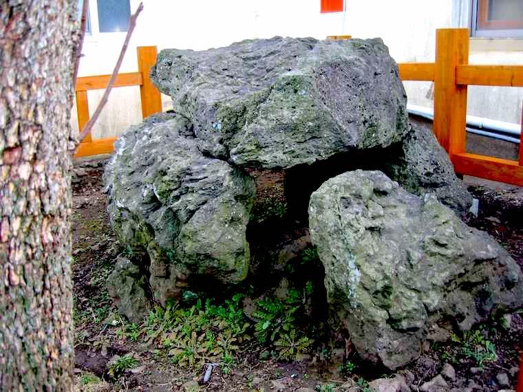 済州島(チェジュ島)の支石墓
