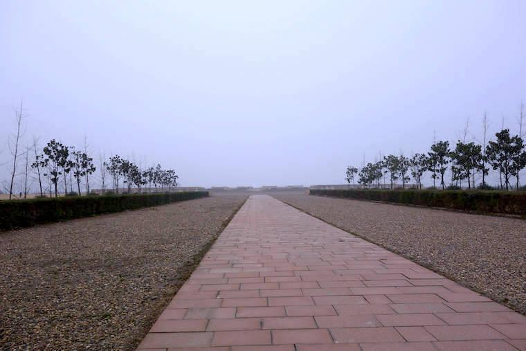 漢魏洛陽城の広大さ、宮城区への入口