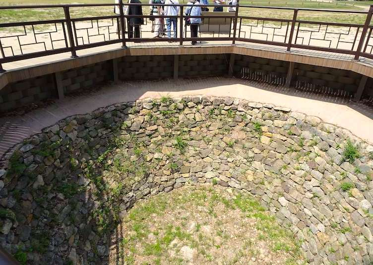 公山城に残るため池