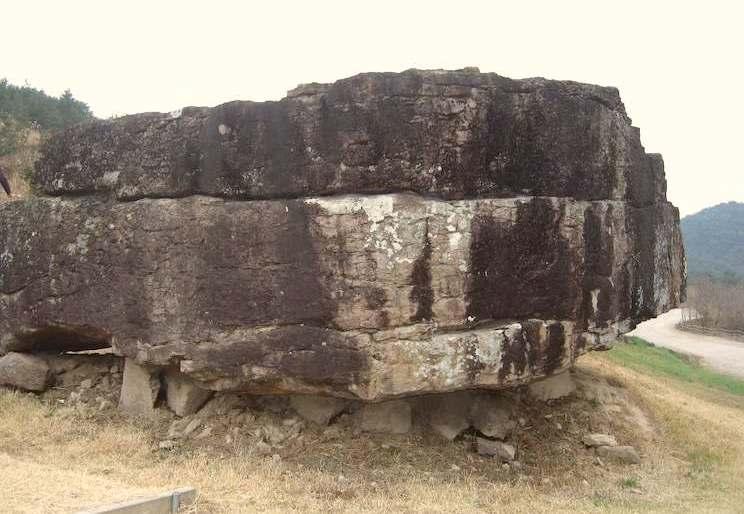 全羅南道の和順支石墓。韓国の世界遺産