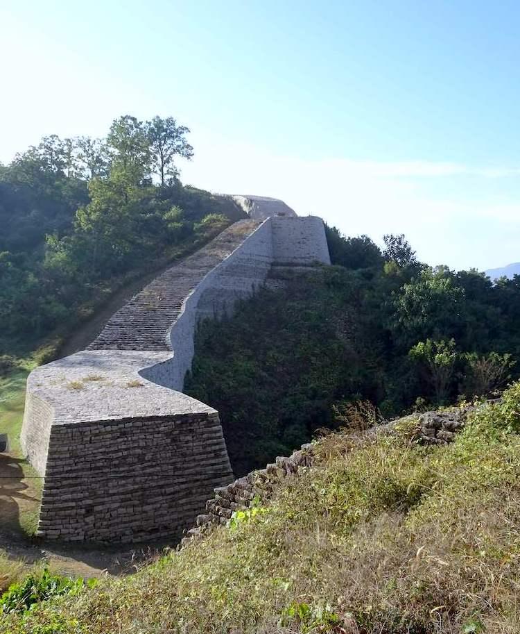 古代三国時代の新羅の山城「三年山城」