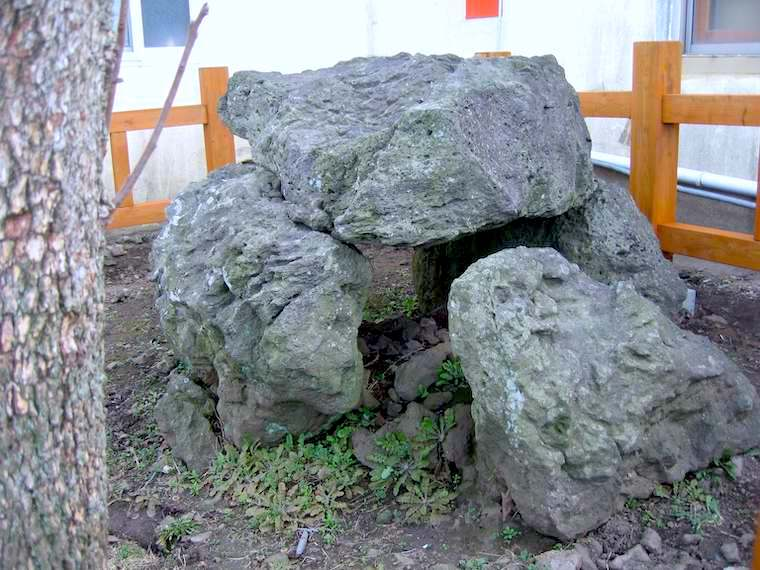 済州島の支石墓